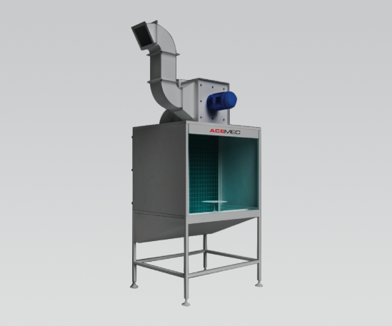 Bench Spray Booth